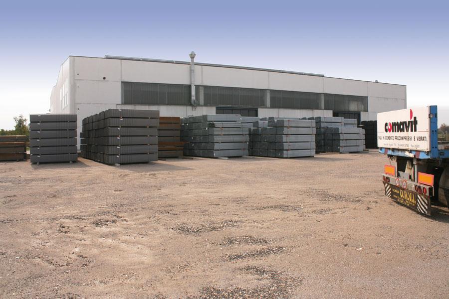 Produzione pali in cemento comavit produzione pali in - Produzione mobilifici treviso ...